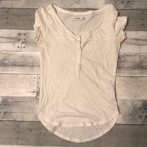 Girls white Abercrombie Kids Shirt Size L